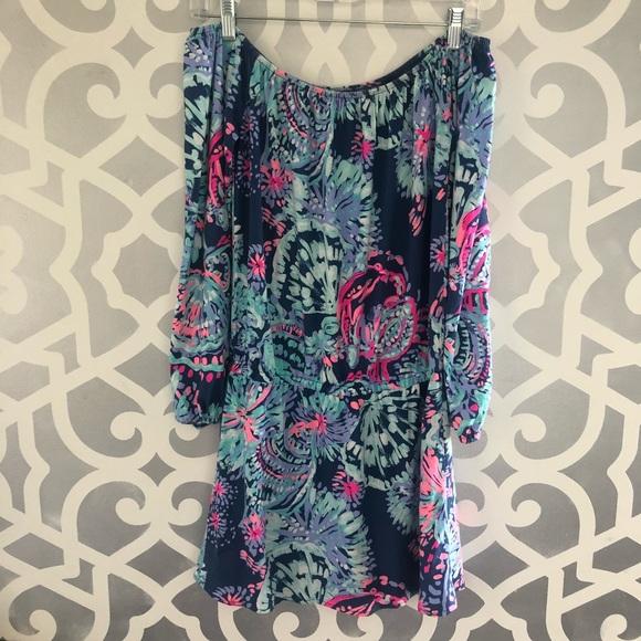 20f4b7fa1be Lilly Pulitzer Dresses   Skirts - Lilly Pulitzer Lana Skort Romper Dress  Gypsea Girl